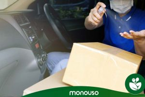 Keys to pick up packages without health risk