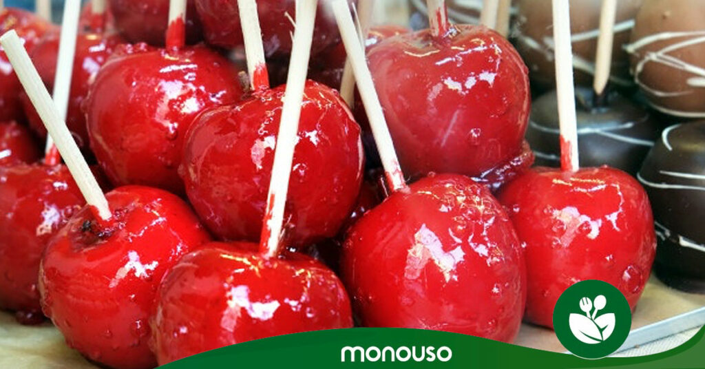 Palillos perfectos para tus manzanas de caramelo caseras