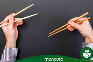 How to use chopsticks to show off eating sushi