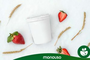 What is the capacity of a yogurt container?