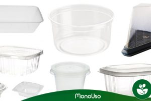 Types of plastic food packaging