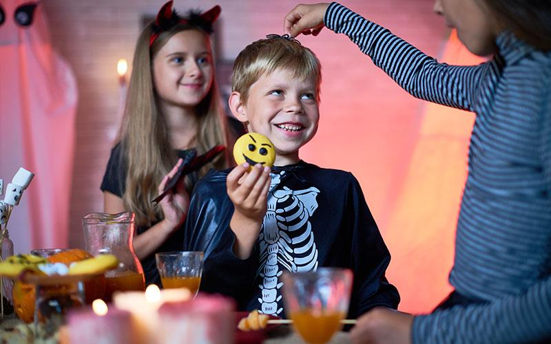 Fiesta de halloween para niños