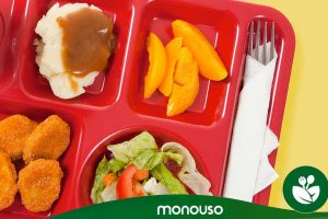 Advantages of self-service school lunch trays