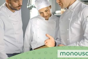 What is the difference between a chef and an executive chef and what are their roles?