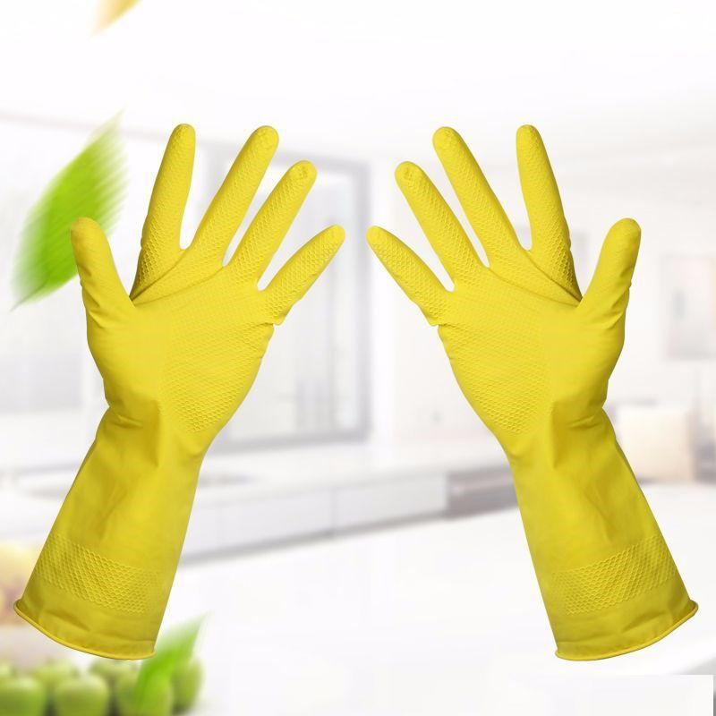 guantes de látex para limpieza