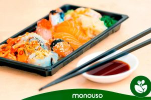 Top 3 products for sushi Monouso 2020